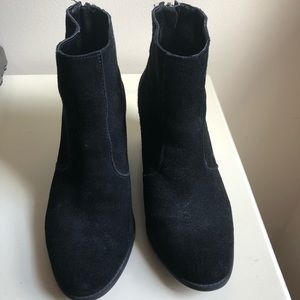 Crown Vintage simple black booties